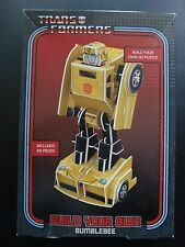TRANSFORMERS BUILDABLE MODEL BUMBLEBEE 3D PUZZLE BRAND NEW IN UNOPENED BOX
