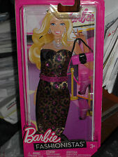 2011 BARBIE FASHIONISTAS ANIMAL PRINT FASHION  #W3180!