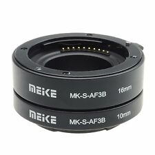Meike S-AF3B AF Auto-Focus Extension Tube Micro Ring Set For Sony E-Mount NEX7