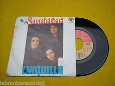 "SANTABARBARA Chiquilla Baja de tu nube Portugal edit 1974 7"" single 45"