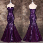 2015 Long Prom Formal Party Evening SEXY Mermaid Wedding Ball Gown Long Dresses