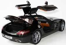 Minichamps 1/18 Mercedes Benz SLS AMG (c197) 2010 Black  Ltd Edition B66960042