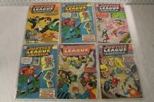 4 DC COMICS JUSTICE LEAGUE OF AMERICA THE CRISIS ON EARTH ONE ! THE ... Lot 291
