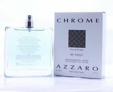 CHROME by Loris Azzaro for Men Cologne 3.4 oz New Spray tester
