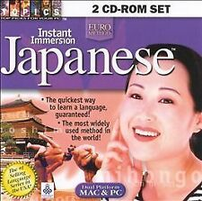 Instant Immersion Japanese 2 CD-ROM Set (Jewel Case) Topics Entertainment CD-RO