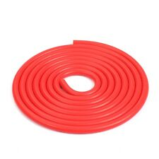 """Red 5/32"""" (4mm) Vacuum Silicone Hose Intercooler Coupler Pipe Turbo By Foot"""