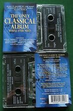 The Only Classical Album You'll Ever Need inc O Fortuna + 2 x Cassette Tape