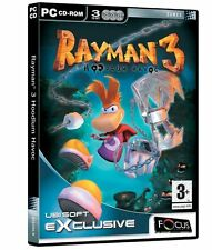 RAYMAN 3 THREE Hoodlem Havoc PC Great Kids Game Arcade Fun *NEW & SEALED*