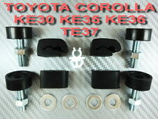 HOOD BONNET BUMPER ADJUSTABLE + ROD CLAMP TOYOTA COROLLA KE30 KE35 KE36 TE37