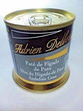 Bloc FOIE GRAS CANARD du Sud-Ouest 200g 7.05oz 0.44 lb French made 4-6 Servings