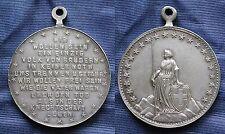 MEDAL SUISSE ELVETIA SWITZERLAND SVIZZERA WIR WOLLEN SEIN EIN EINZIG VOLK ...