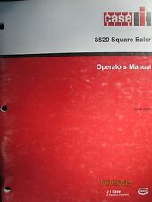 CASE - IH 8520 Square Baler Operator`s Manual Factory Original