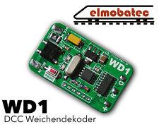 *NEU* WD1 Weichendecoder 1-Fach Dekoder für DCC System H0 / N / Z *NEU*