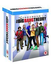 The Big Bang Theory Season 1 + 2 + 3 + 4 + 5 + 6 + 7 + 8 + 9 Blu-ray *NEU* 1-9