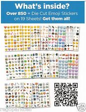 NEW Original Emoji Sticker Pack 912 Die Cut Stickers iPhone Instagram Twitter