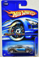 HOT WHEELS 2006 BUGATTI  VEYRON #144 ALL 4 SMALL WHEELS VARIATION