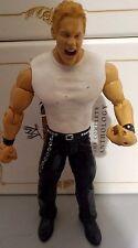 WWE Test Andrew Martin WWF Wrestling Jakks Figur 2003 white shirt