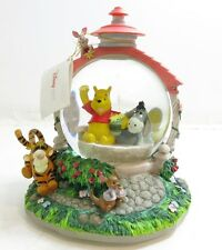 DISNEY STORE SNOWGLOBE / MUSIC BOX ~ WINNIE THE POOH AND FRIENDS