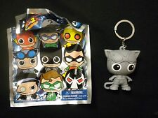 DC Comics Series 2 Figural Key Chain - CATWOMAN (SPECIAL EDITION SILVER)