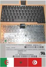 CLAVIER QWERTY ARABE HP NC4200 NC4400 TC4200 240055 240055-171 230514-171 Noir