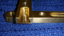 Brass ILF Plates long for Wood Risers 3 1/2x3/4x5/16!!!!!