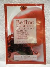 Be Fine Food Skin Care Single Serve Warming Clay Mask Natural