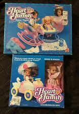 The Heart Family Babies Playset Neighborhood Kids Windy Wagon SEALED Doll Baby