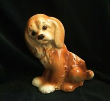 Vintage Royal Copley Ceramic Cocker Spaniel Planter Vase Puppy Dog