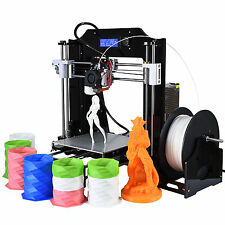 3D Drucker 200x200x210mm High Precision Reprap Prusa i3 DIY 3D Printer Kit V2017