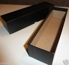 "Black Coin Storage Box-SingleRow (9""x2""x2"") for 2x2 holders U-DO-ITS Flip Mylar"