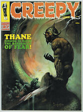 CREEPY #27 8.0 FRAZETTA BARBARIAN COVER OFF-WHITE TO WHITE PAGES 06/69