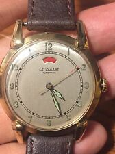 VINTAGE LECOULTRE 481 POWER RESERVE WATCH =RUNS