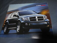 2007 Dodge Durango SUV Color Brochure Catalog Prospekt