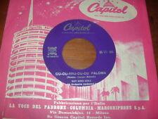"""NAT KING COLE """" CU CU RRU CU CU PALOMA  - NOCHE DA RONDA """" ITALY'58"""