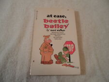 comic book At Ease,Beetle Bailey by Mort Walker 1970 Tempo books VGC