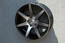 Set of 4 Wheels 18 inch Matte Black Machined Rims fits ACURA TL TYPE S EXCEPT BR