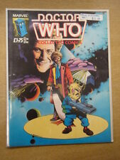DOCTOR WHO COLLECTED COMICS 1985 MARVEL MAGAZINE JOHN RIDGWAY ART DR WHO