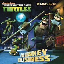 Monkey Business (Teenage Mutant Ninja Turtles) (Pictureback(R)) Random House Pa