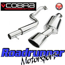 "Cobra Sport Seat Leon MK1 1.9 TDi (99-05) Exhaust System 2.5"" Cat Back Resonated"