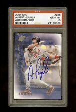 2001 ALBERT PUJOLS SPx AUTOGRAPH RC /1500 PSA 10 GEM ~REGISTRY MUST~