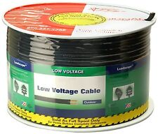 Low voltage 12-2 gauge landscape wire cable 250 feet not in a spool