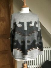 VINTAGE ALPACA COLLECTION PERUVIAN STYLE Jumper SIZE L LITTLE USED