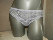 La Perla Studio thong IT4 L FR44 UK14-16 lace light violet