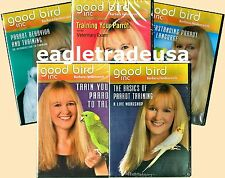Parrot Training DVD Collection (5 Titles - 8 Discs) by Barbara Heidenreich