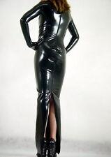 Details about  Lycra Zentai spandex Unisex dress Metallic Black S-XXL