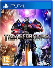 PS4 Spiel Transformers The Dark Spark für Playstation 4 NEUWARE