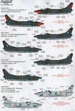 Xtradecal 1/72 X72175 Fiat G91R/3 Decal Set