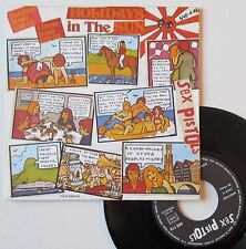 "Vinyle 45T Sex Pistols  ""Holidays in the sun"""