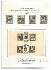 1940 Lublin Poland Germany GG Stamps with Postcard cover War Relief Red Cross