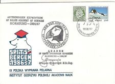13) NORWAY cover Polar Expedition Svalbard Spitsbergen Arctic Signed Autographed